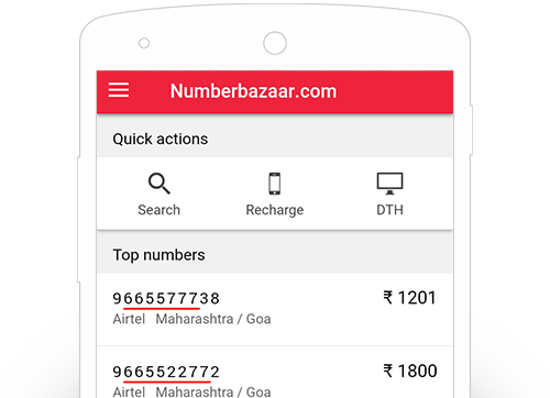 Fancy Number | Choice Mobile Number | VIP Mobile Number