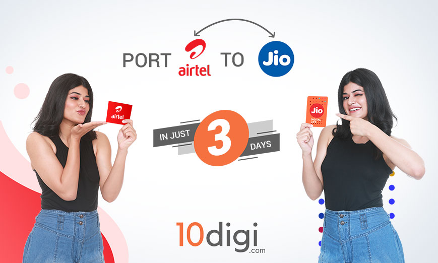 how to port number from airtel to jio